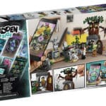 LEGO Hidden Side 70420 Friedhof Box Hinten