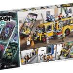 LEGO Hidden Side 70423 Schulbus Box Hinten