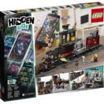 LEGO Hidden Side 70424 Zug Box Hinten