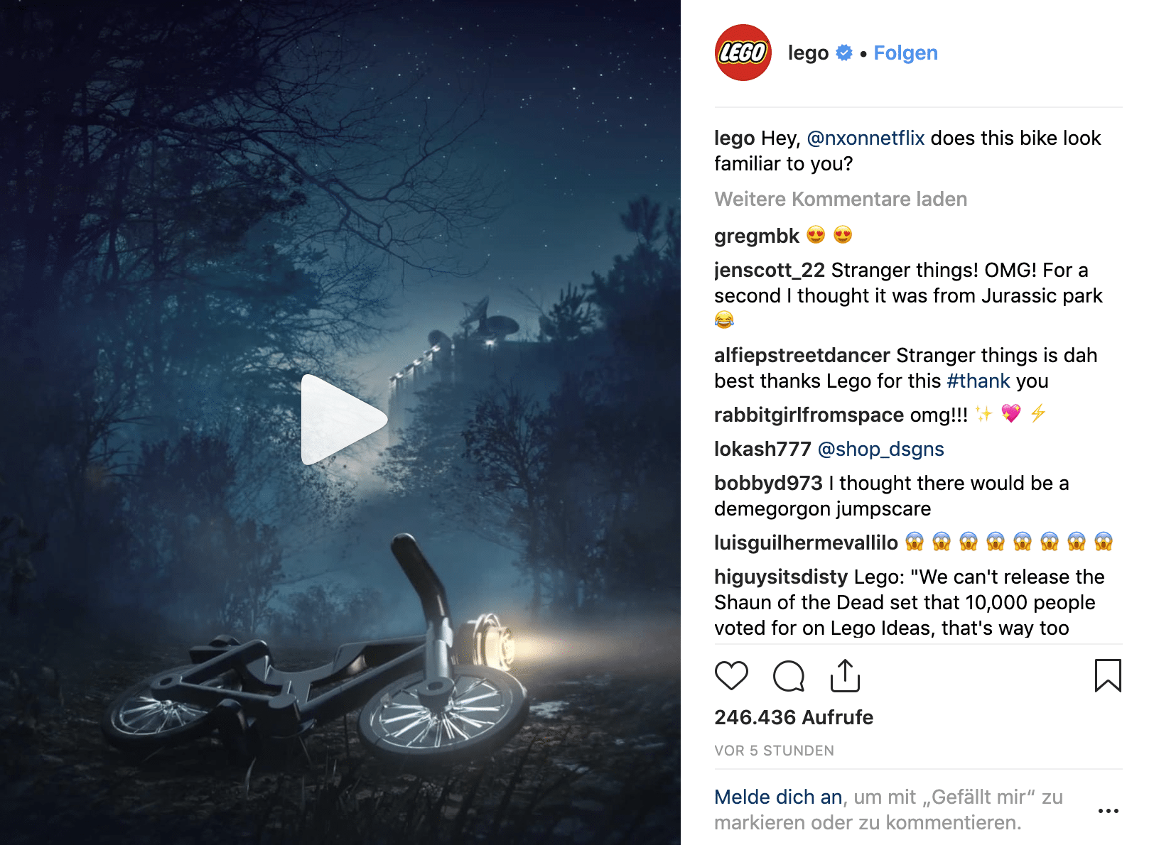 LEGO 75810 Teaser bei Instagram