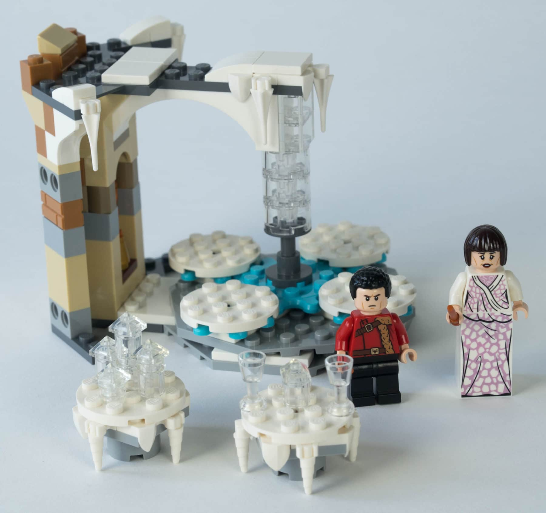 LEGO Harry Potter 75948 Uhrenturm Bauschritt 1