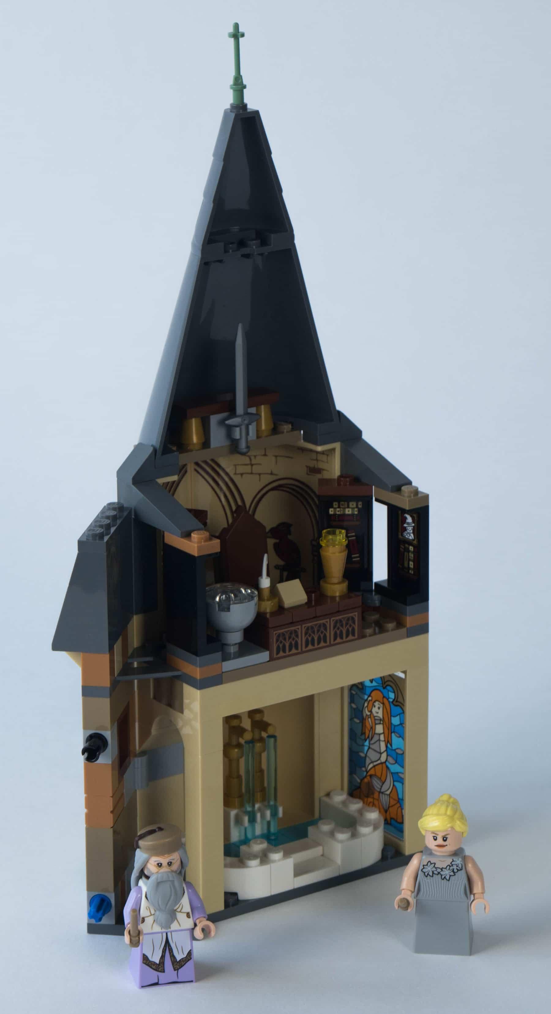 LEGO Harry Potter 75948 Uhrenturm Bauschritt 2