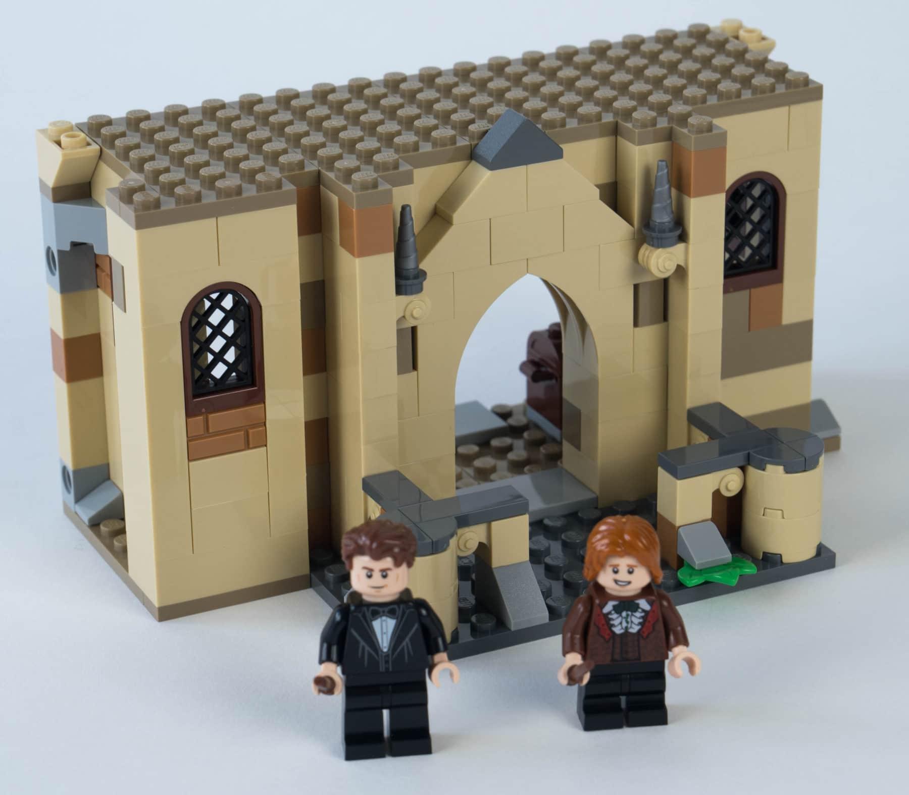 LEGO Harry Potter 75948 Uhrenturm Bauschritt 3