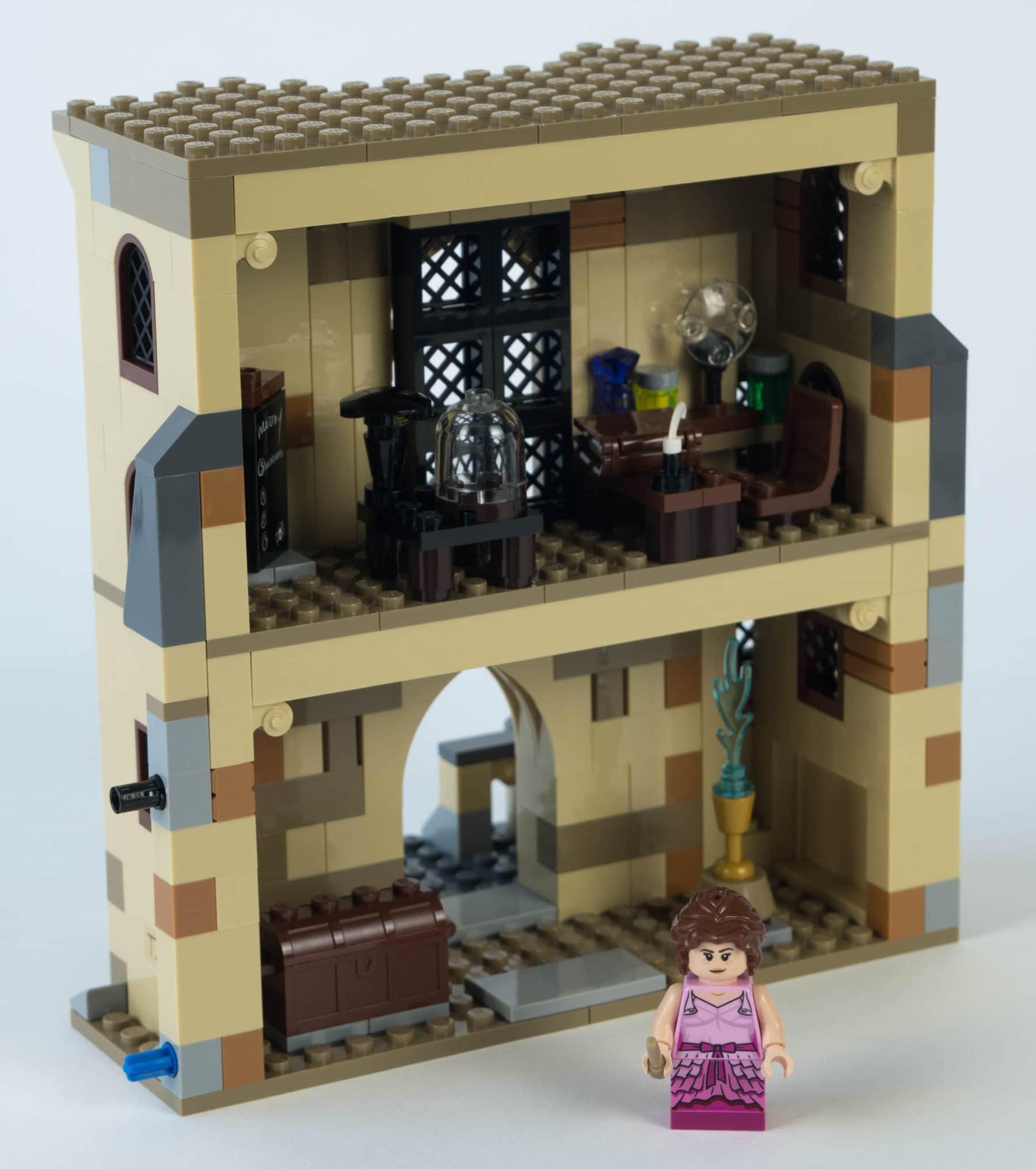 LEGO Harry Potter 75948 Uhrenturm Bauschritt 4