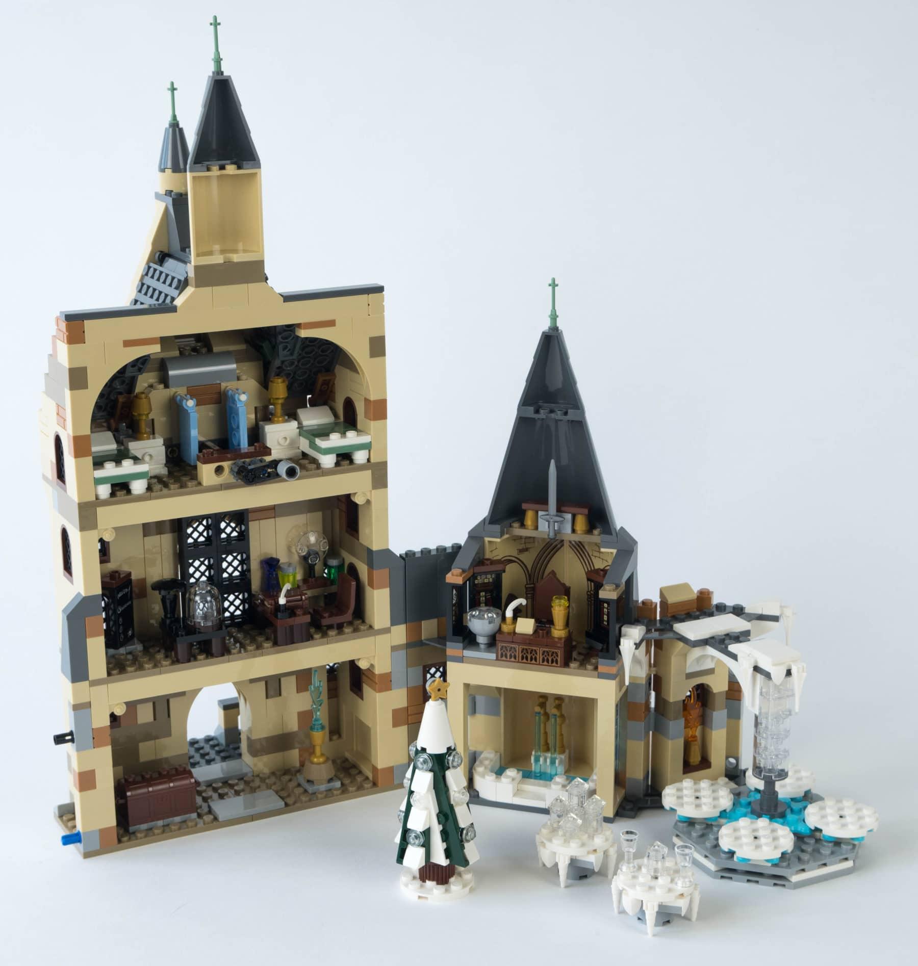 LEGO Harry Potter 75948 Uhrenturm Rückseite