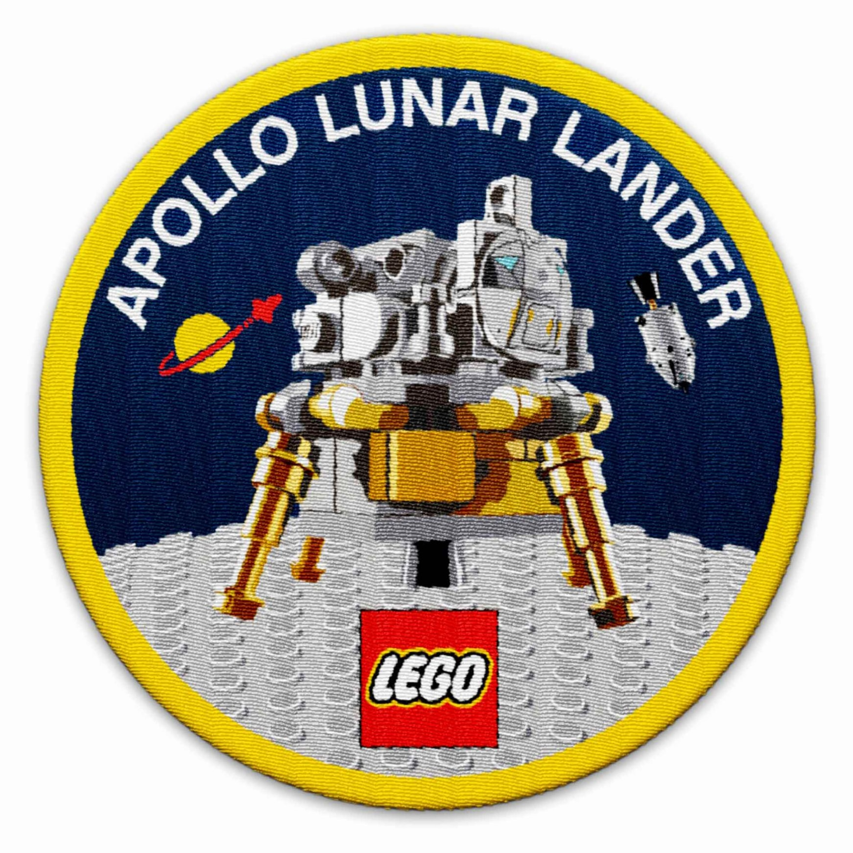 LEGO Apollo Lunar Lander Aufnäher GWP
