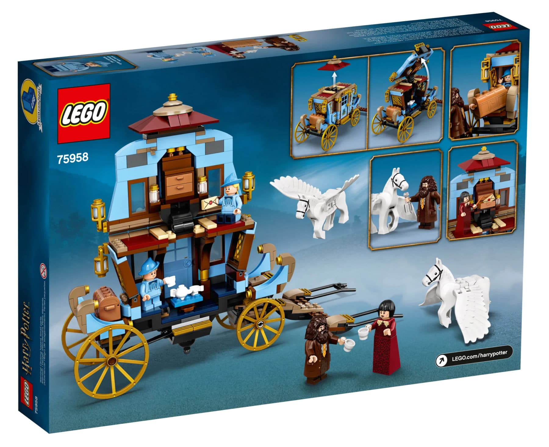 LEGO Harry Potter 75958 Box Rückseite