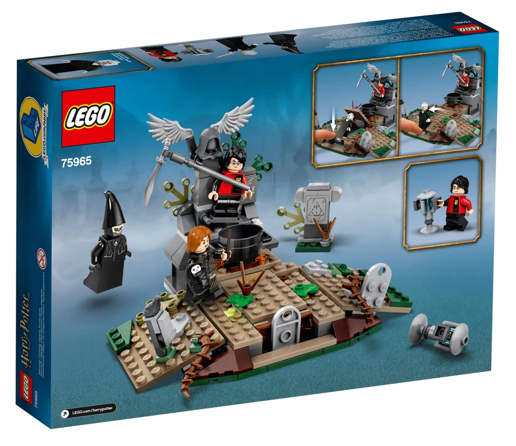 LEGO Harry Potter 75965 Box Rückseite