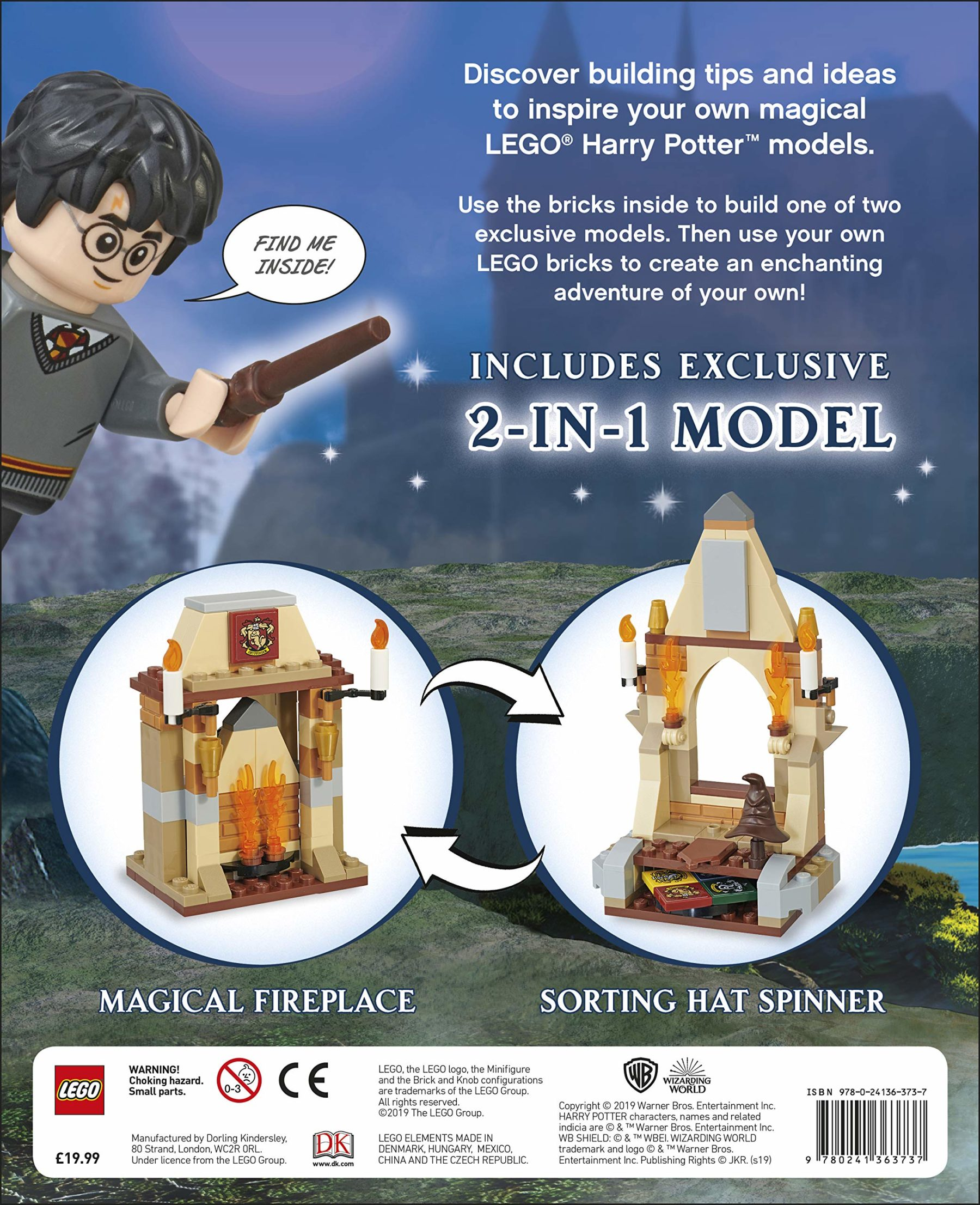 LEGO Harry Potter Build Your Own Adventure Buch