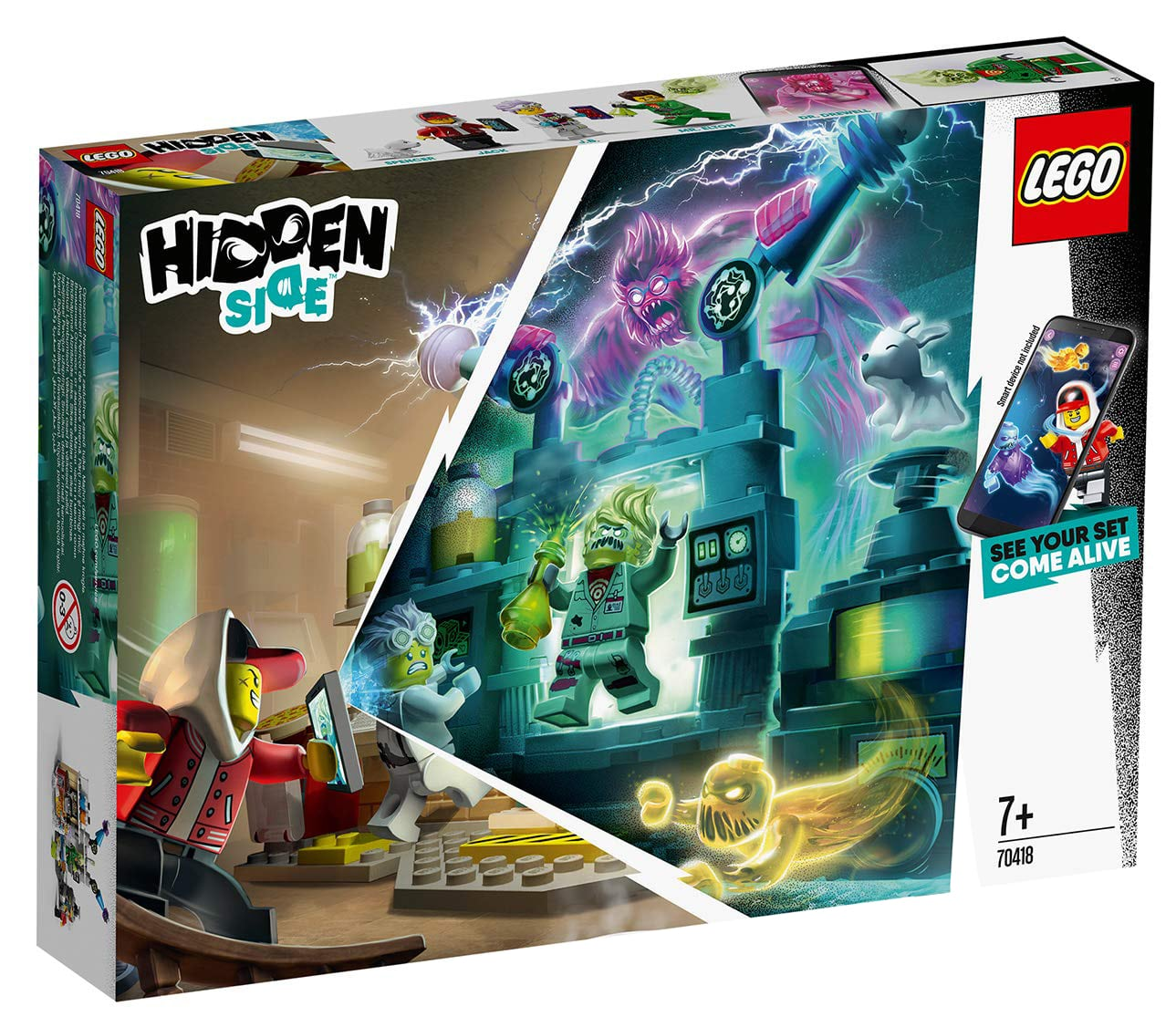 LEGO Hidden Side 70418 Labor Box