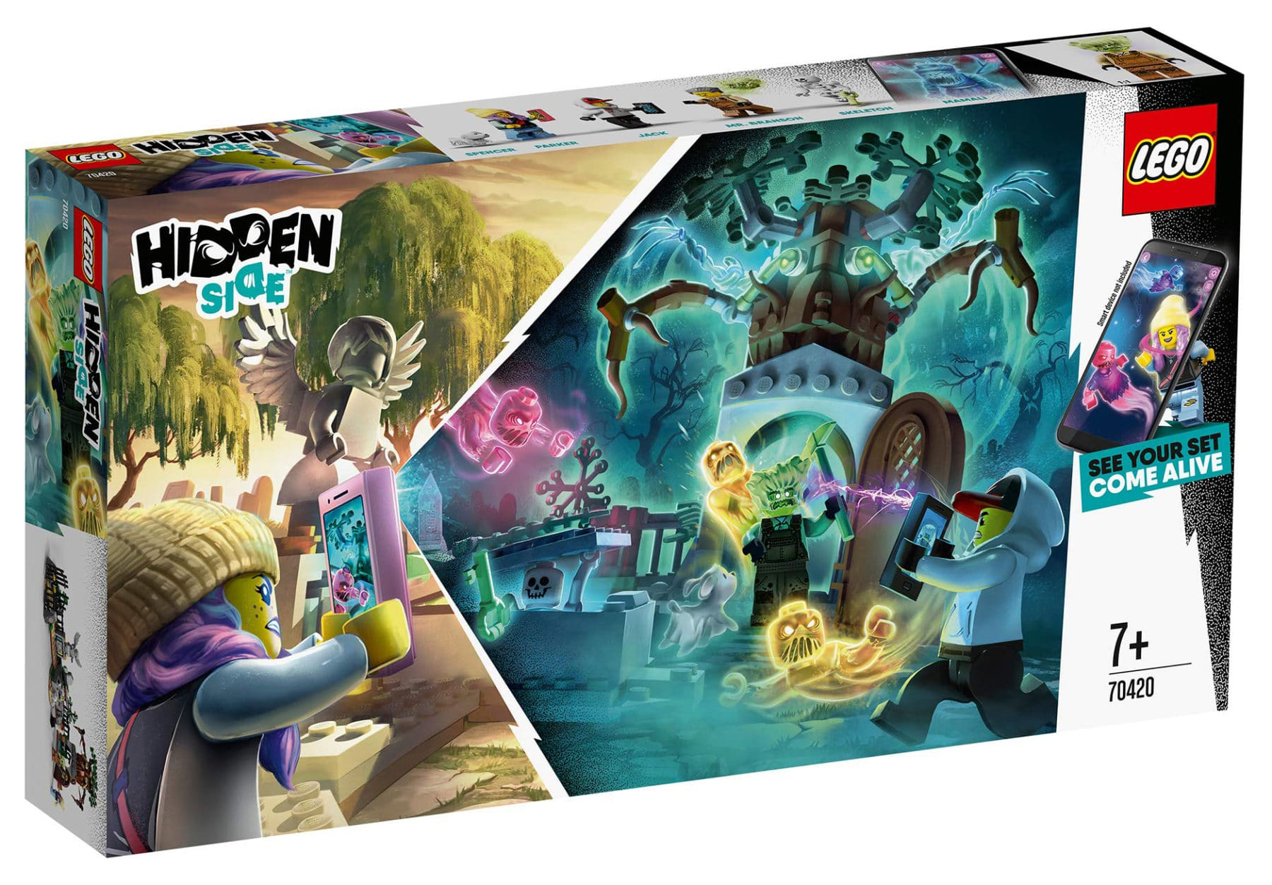 LEGO Hidden Side 70420 Friedhof Box