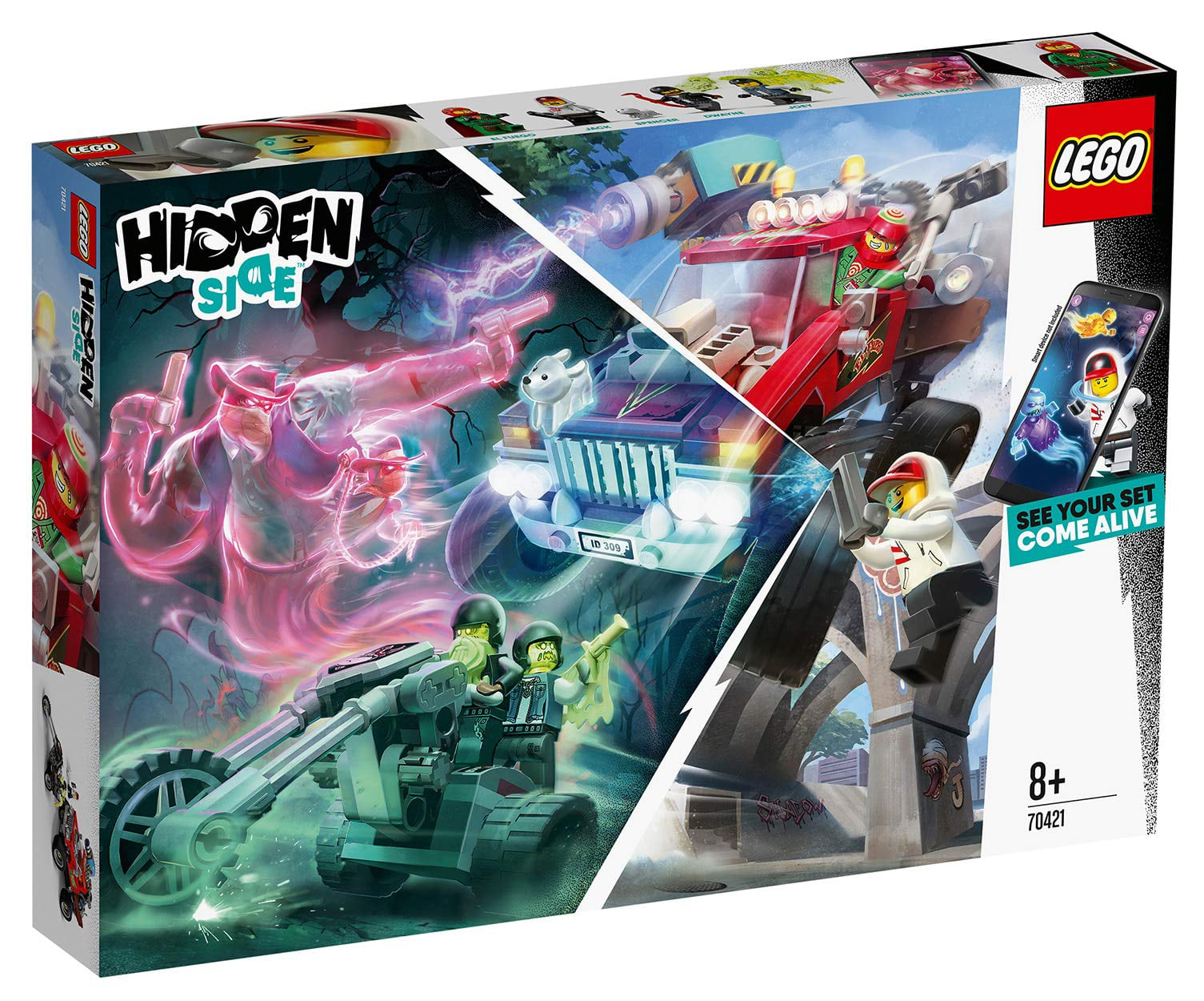 LEGO Hidden Side 70421 Truck Box