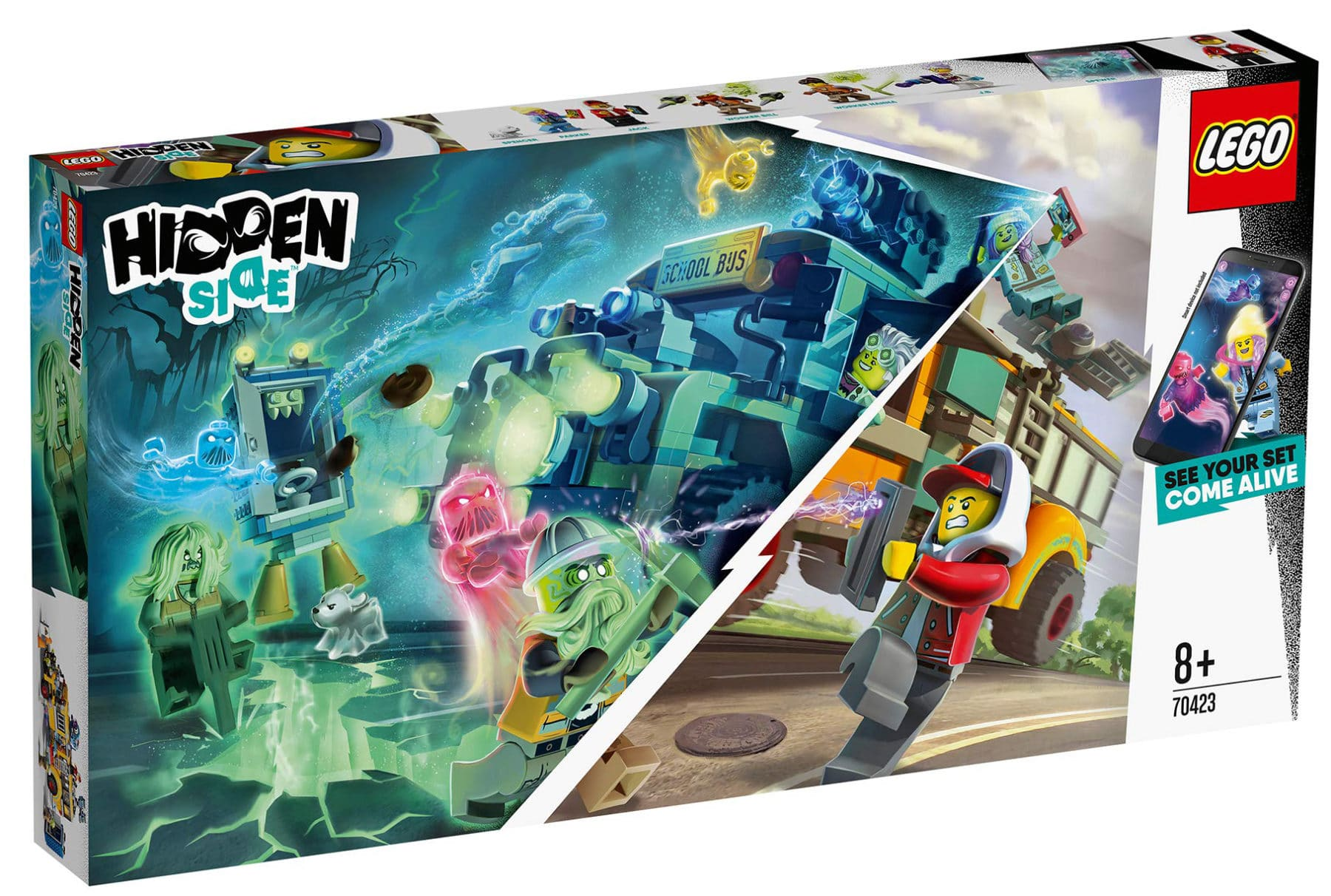 LEGO Hidden Side 70423 Schulbus Box