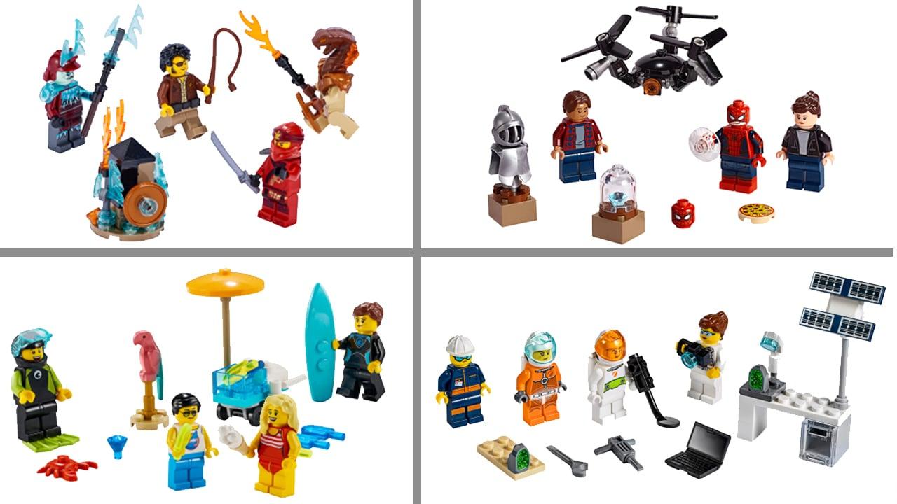 LEGO Minifiguren Pakete Juni 2019