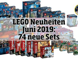 LEGO Neuheiten Juni 2019