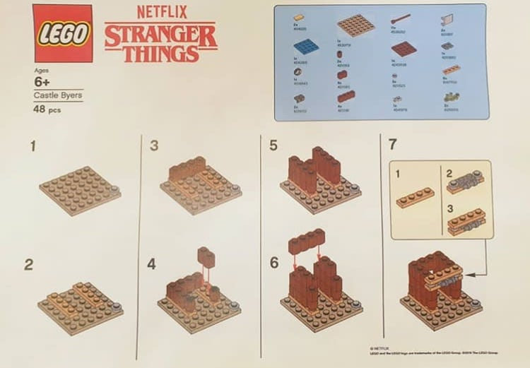 LEGO Stranger Things Castle Byers Anleitung