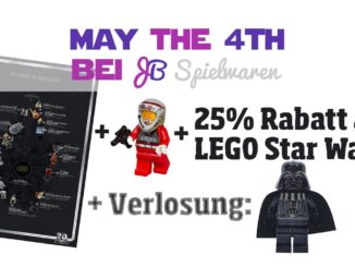 May the 4th bei JB Spielwaren