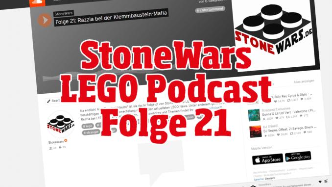 StoneWars LEGO Podcast Folge 21