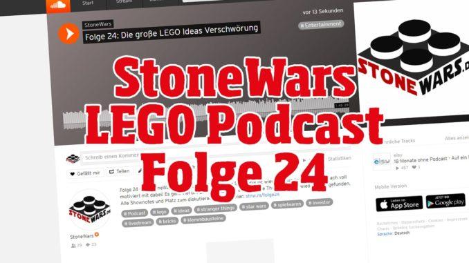 StoneWars LEGO Podcast Folge 24