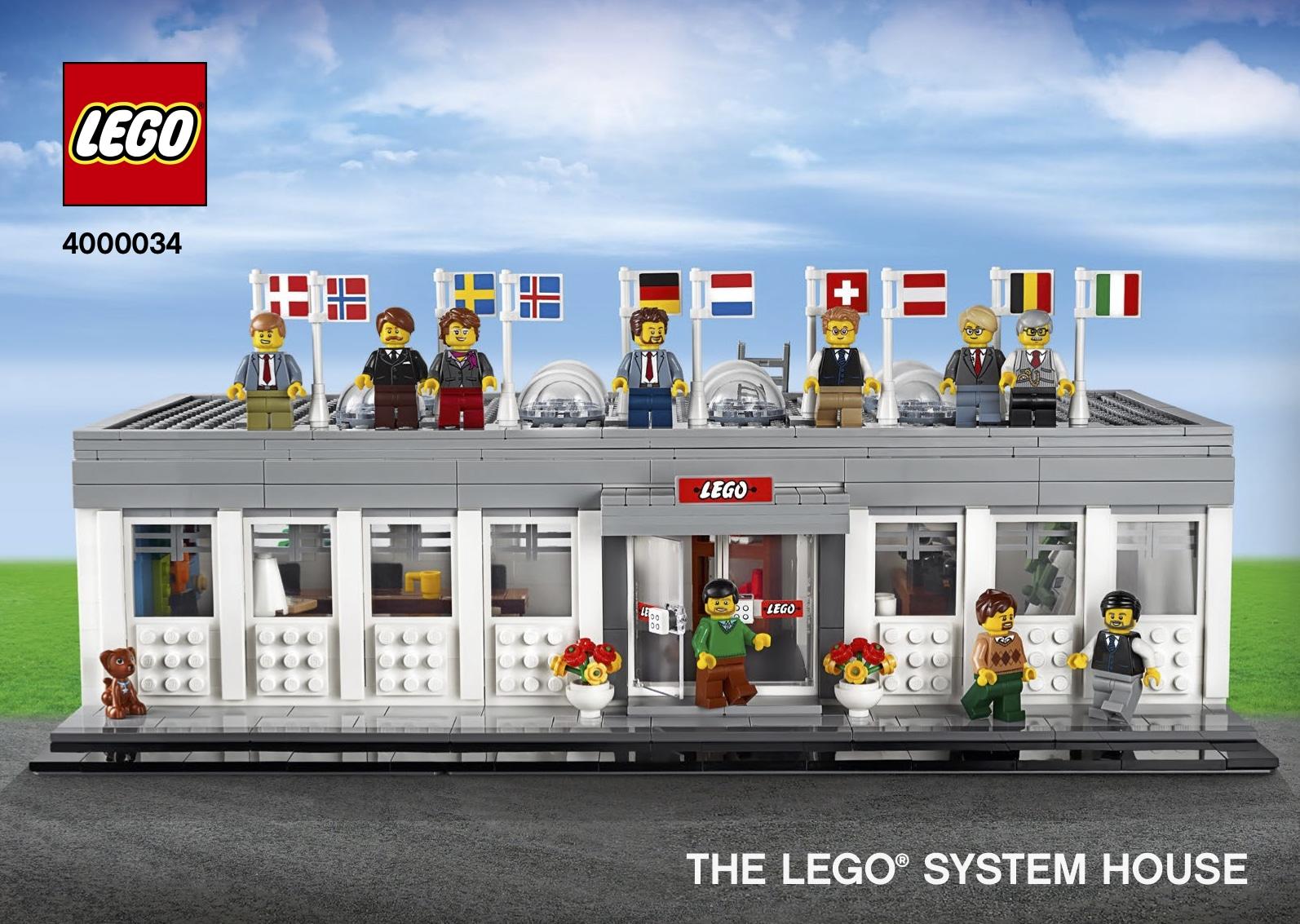 LEGO 4000034 System House