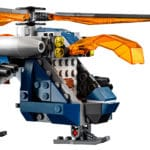 LEGO Marvel 76144 Avengers Hulk Helicopter Rescue Helicopter