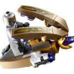 LEGO Marvel 76144Avengers Hulk HelicopterRescue Chitauri Hovercraft