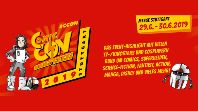 Comic Con Stuttgart 2019