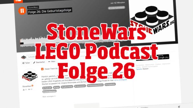 StoneWars LEGO Podcast Folge 26