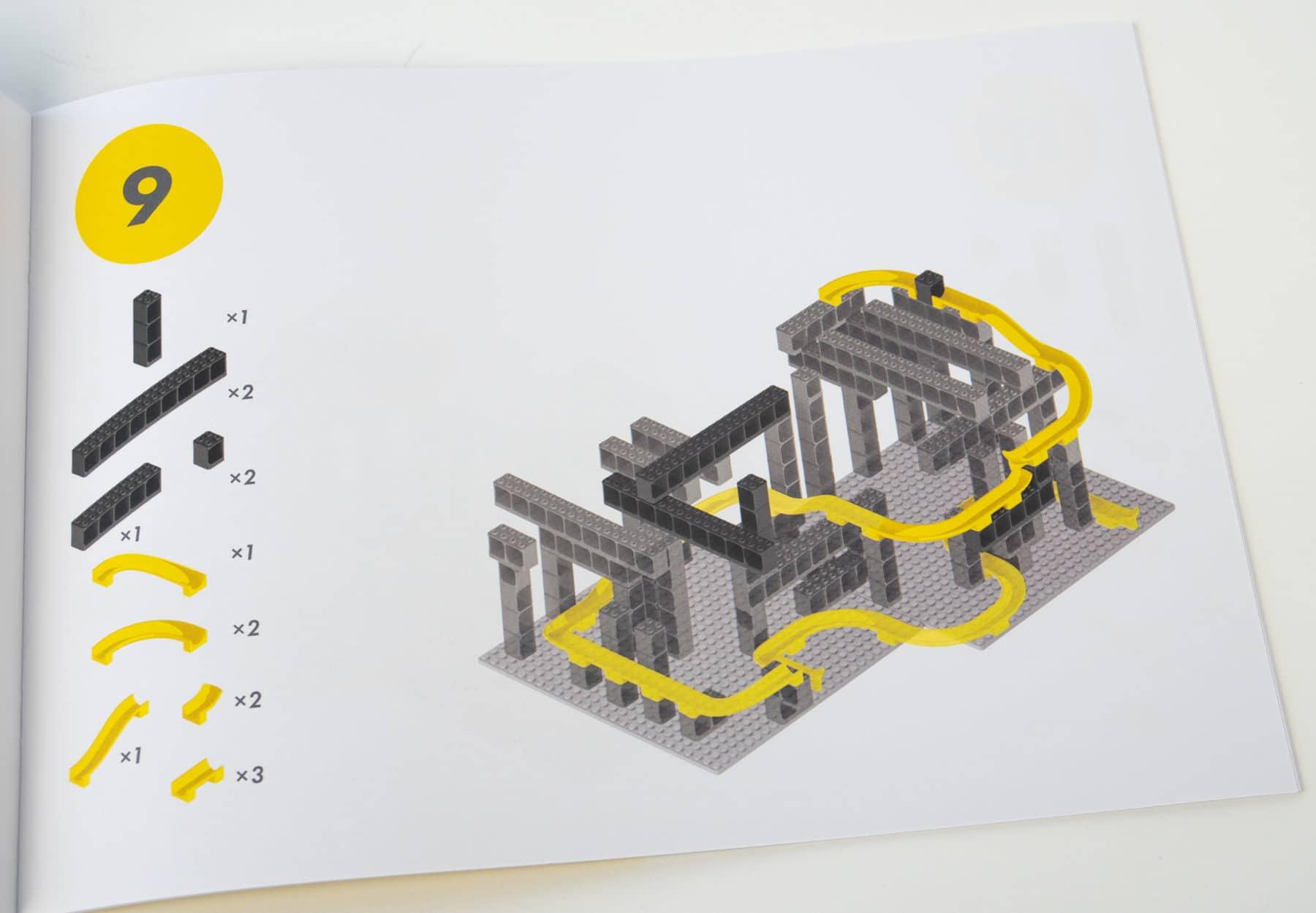 Hubelino Pi Kugelbahn Anleitung