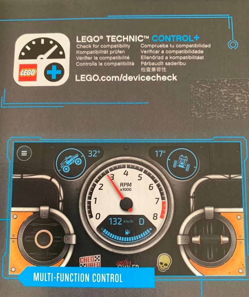 LEGO 42099 Technic 4x4 Crawler Box