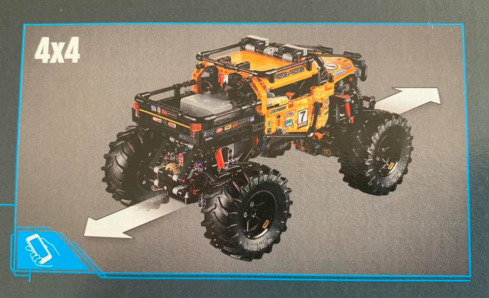 4X4 Off Road >> LEGO 42099 Technic 4x4 X-treme Off-Roader: Bilder der ...