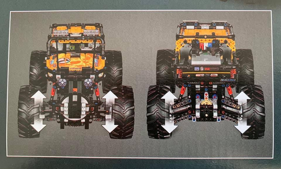 4X4 Off Road >> LEGO 42099 Technic 4x4 X-treme Off-Roader: Bilder der Verpackung