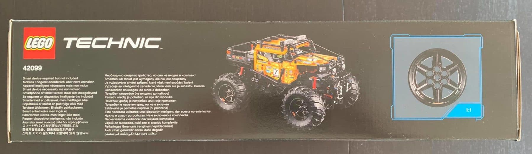 LEGO 42099 Technic 4x4 Crawler Box