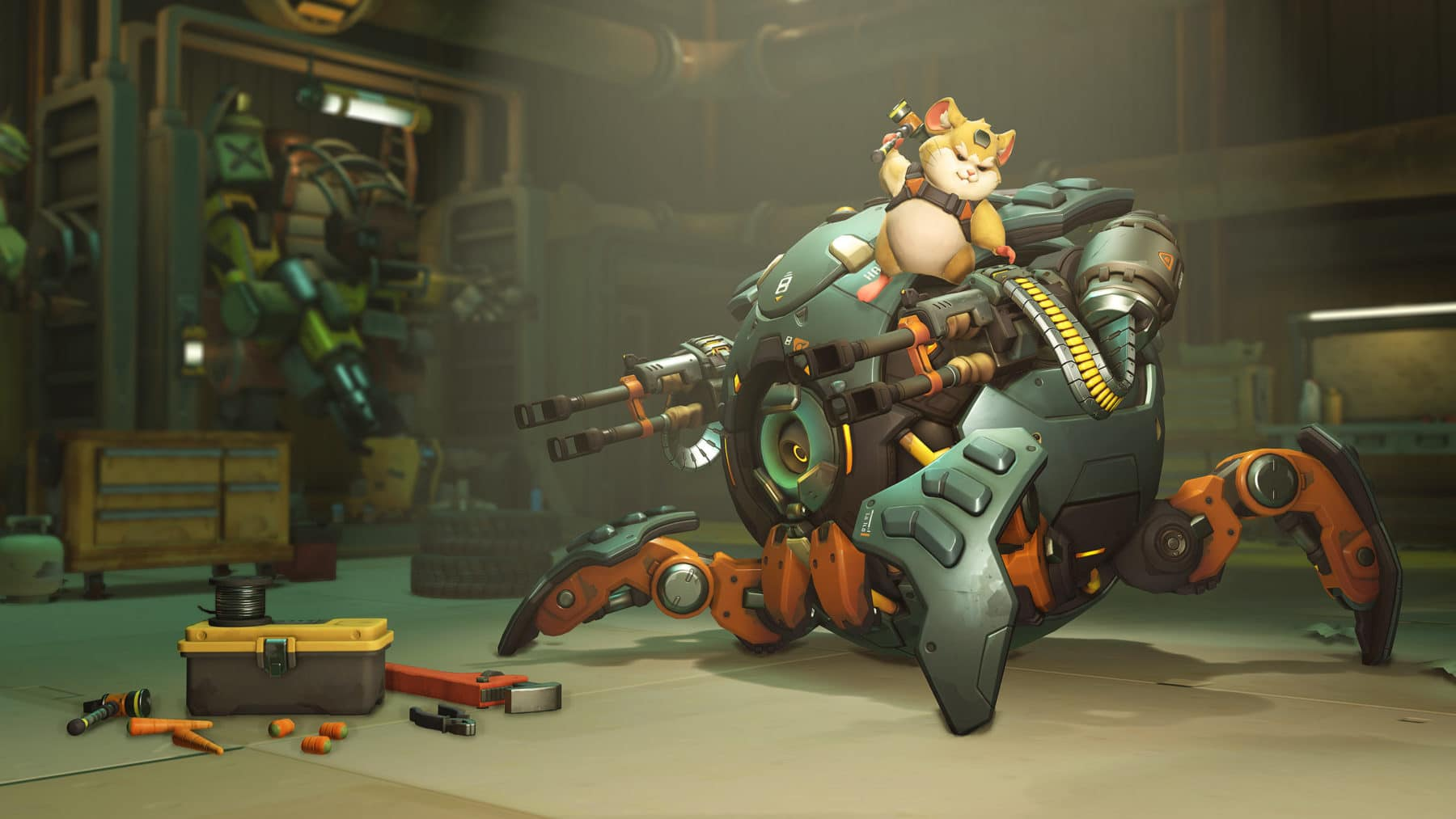Screenshot aus Overwatch: Wreckingball