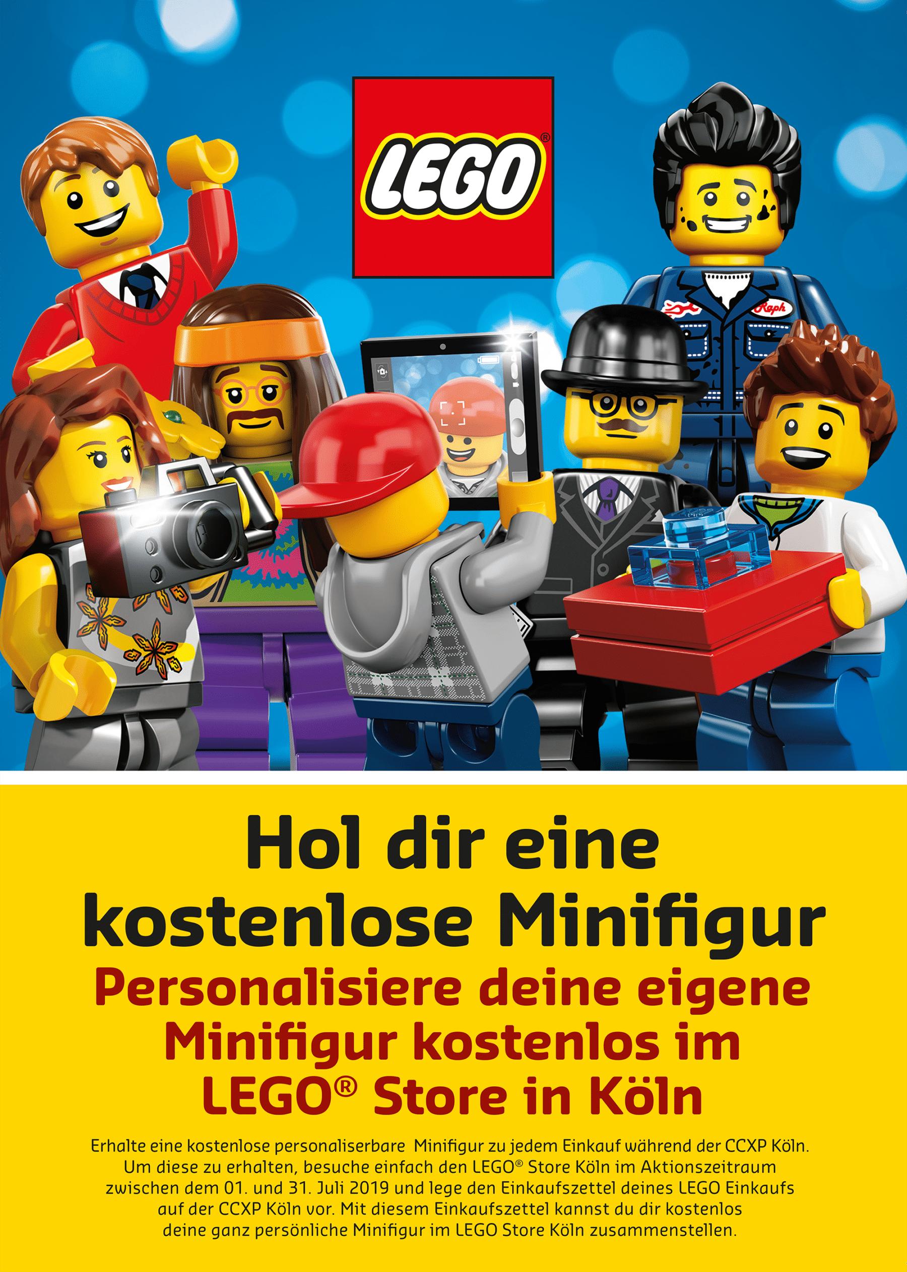 LEGO auf der CCXP in Köln: Gutschein für kostenlose Minifigur