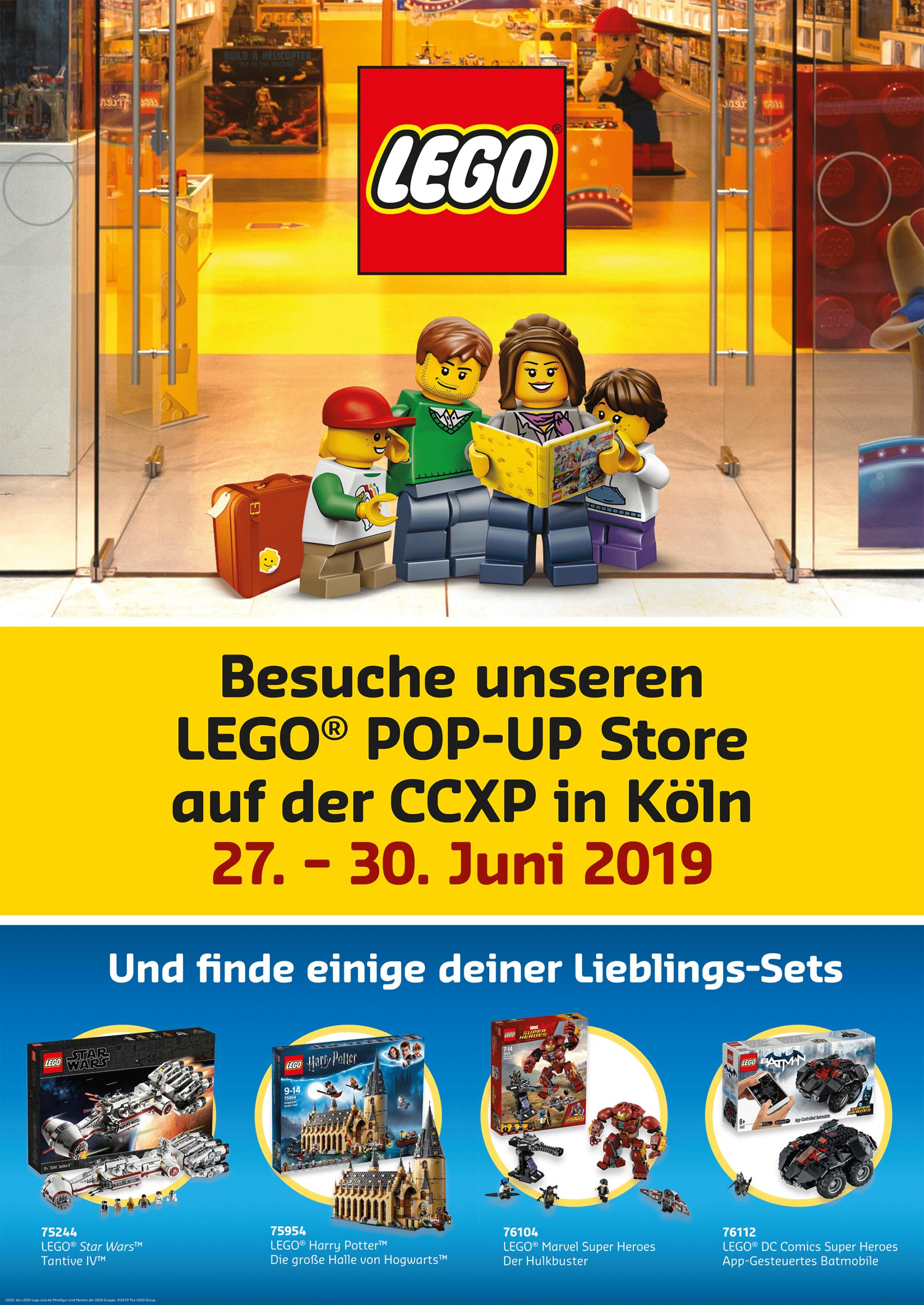 LEGO auf der CCXP in Köln