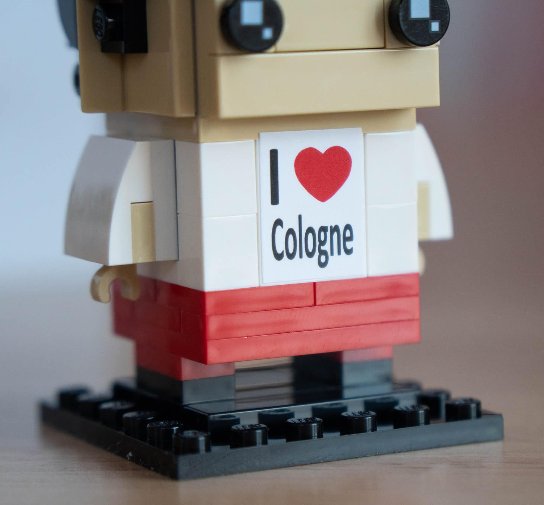 LEGO Cologne BrickHeadz 6302766 Review