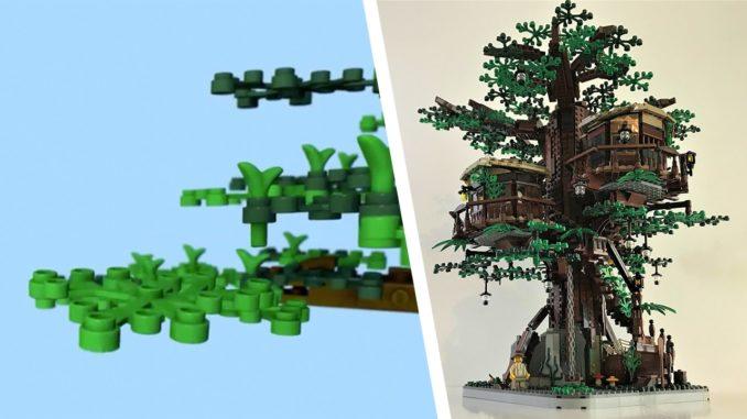 LEGO Ideas 21318 Baumhaus Teaser