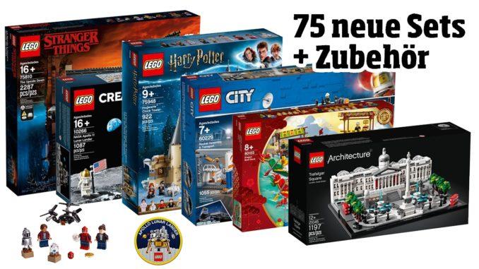 LEGO Juni Neuheiten 2019: 75 Sets + Zubehör