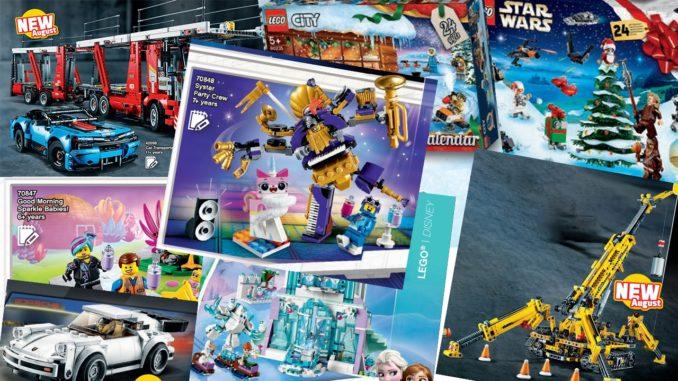 LEGO Katalog 2. Halbjahr 2019 Neuheiten Übersicht