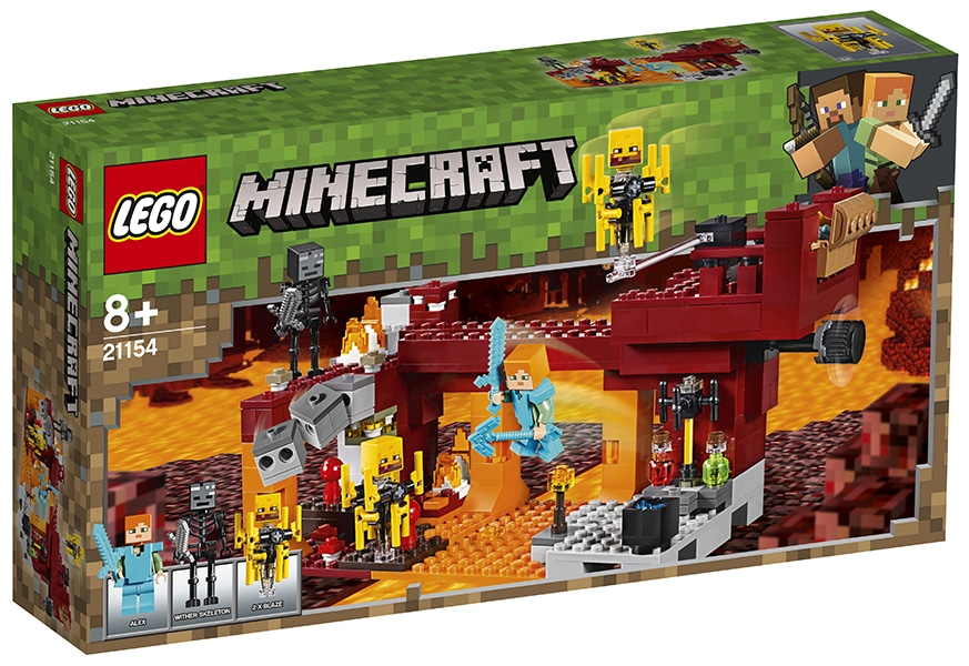 LEGO Minecraft 21154 The Blaze Bridge