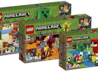 LEGO Minecraft August 2019