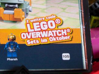LEGO Overwatch Sets Oktober 2019