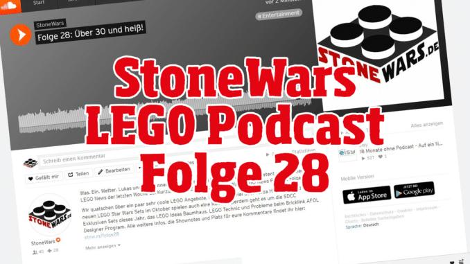 StoneWars LEGO Podcast Folge 28