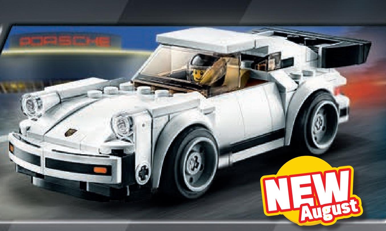 LEGO Speed Champiosn 75895 1974 Porsche 911 Turbo 3.0