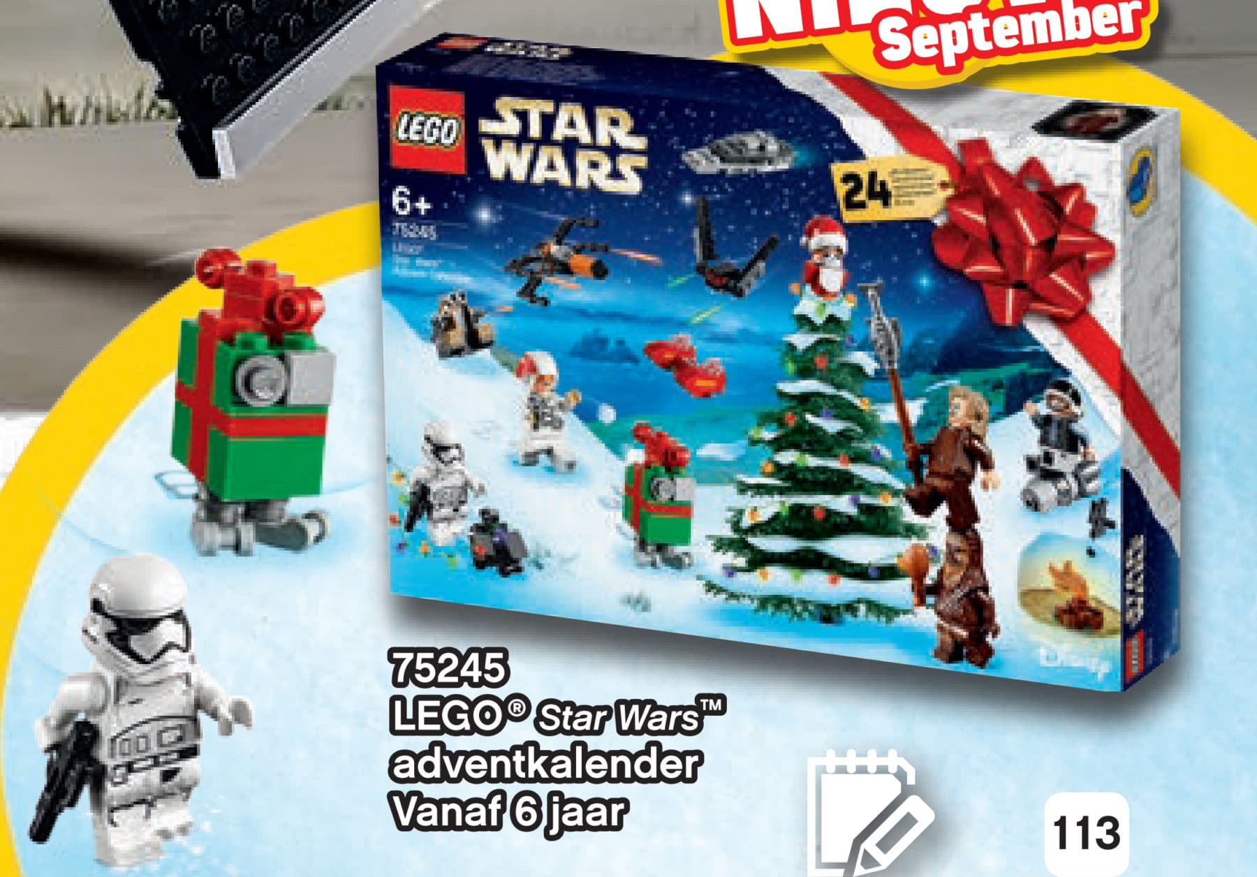 LEGO Star Wars 75245 Adventskalender 2019