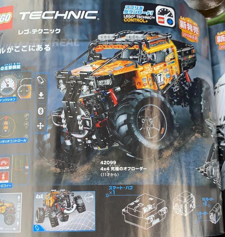 LEGO Technic 42099 4x4 Crawler