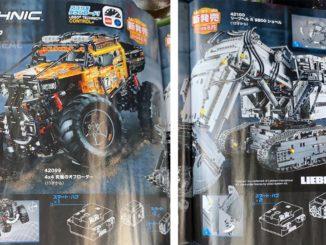 LEGO Technic 42099 und 42100