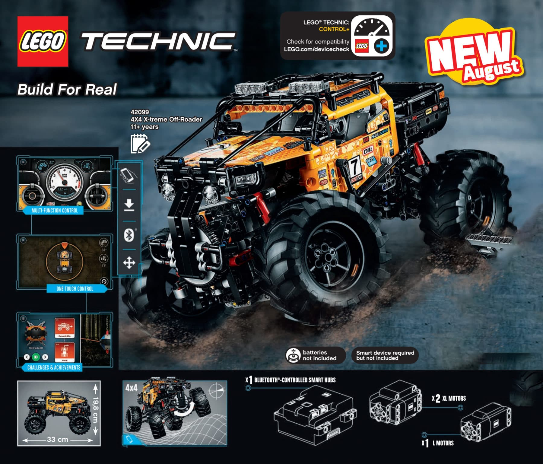 LEGO Technic 42099 X-treme Off-Roader