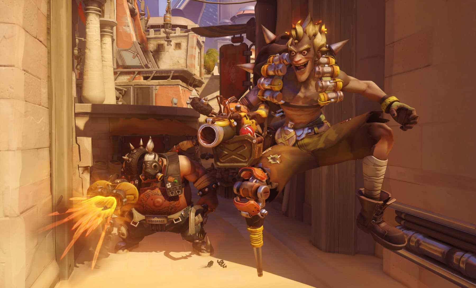 Screenshot aus Overwatch: Junkrat